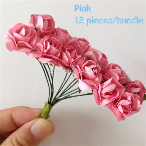How To Make Small Roses With Paper - popular pink paper buy cheap pink paper lots