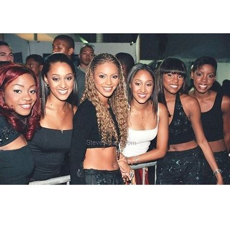 throwback photo of the day tia tamera with their pin by sparkle diva on beyonce pinterest