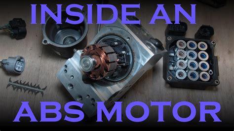 repair anti lock braking 2000 bmw z3 regenerative braking how an abs motor works youtube