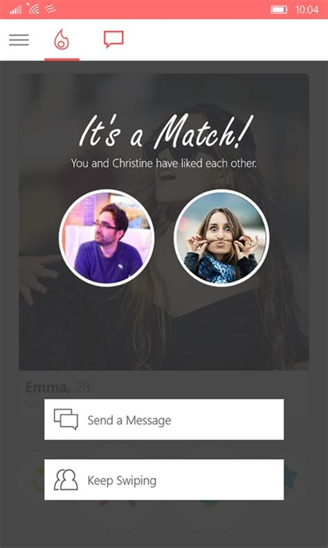 tinder app 6tin for windows 10 gets gif support on msft
