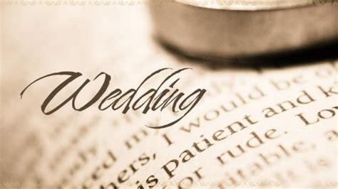 Wedding Bible Sermon by Church Powerpoint Template Wedding Ring Bible