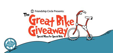Great Giveaway - win 1 of 14 adaptive bicycles in friendship circle s the great bike giveaway