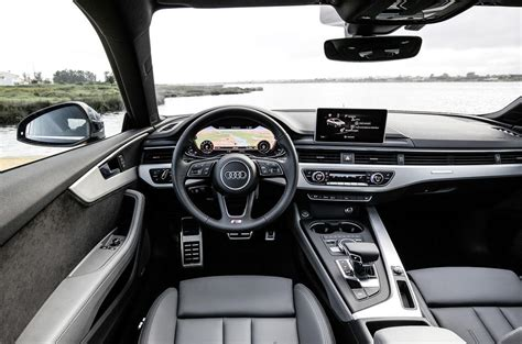 audi dashboard a5 2016 audi a5 3 0 tdi quattro 286 s line review review