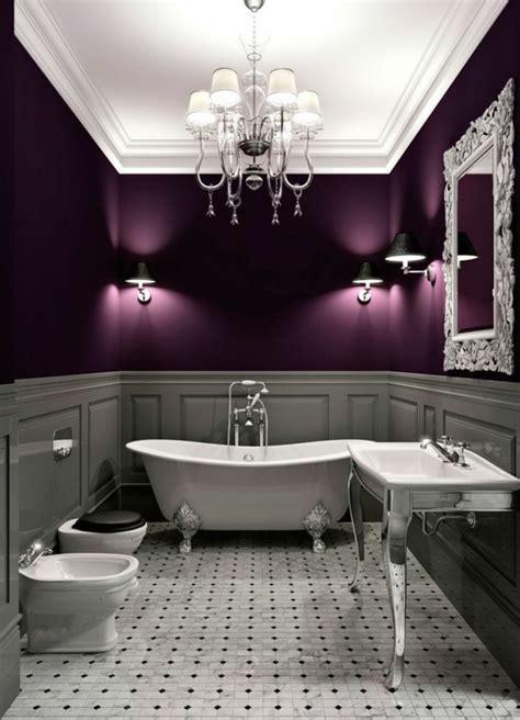 lila und graues badezimmer sch 246 ne wandfarben schaffen gl 252 cksgef 252 hle