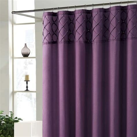 purple valance for bathroom 25 best ideas about purple shower curtains on pinterest