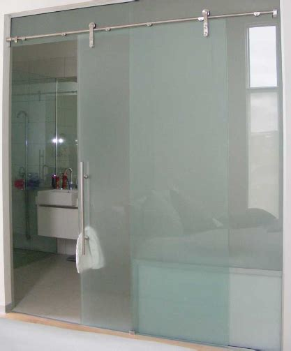 all glass bathroom large sliding glass door for bathroom quality moder