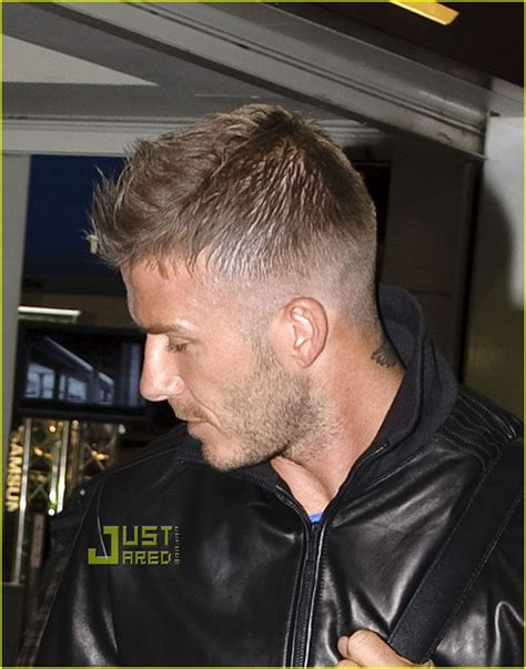 david beckham hairstyles 2009 full sized photo of david beckham roger federer 04 photo