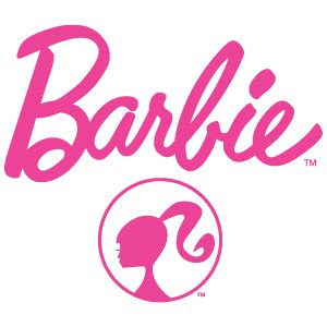 barbie logo coloring pages barbie logo vector in eps ai cdr free download