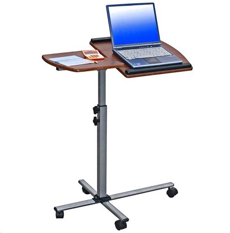 mobile computer desk for home laptop mobile desk for home office