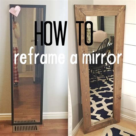 diy bathroom mirror ideas best 25 redo mirror ideas on bathroom mirror
