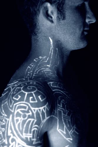 uv tattoo pictures new uv tattoos blacklight tattoos special ink tattoos