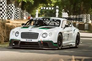 Bentley Motors Limited Bentley Continental Gt3 Ein Rennsportwagen