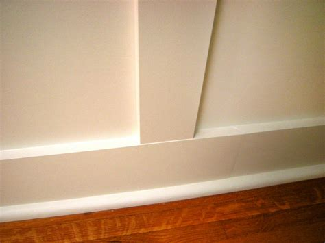 Installing Wainscoting Trim How To Install Recessed Panel Wainscoting How Tos Diy