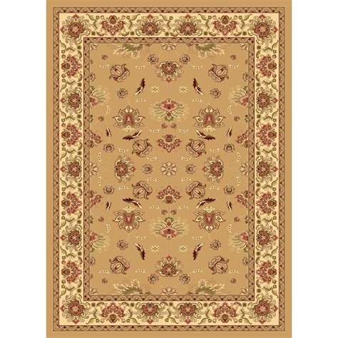 Lowes Area Rugs 8 X 10 Shop Rugs America New Vision Kashan Berber Rectangular Indoor Woven Area Rug Common 8 X 10