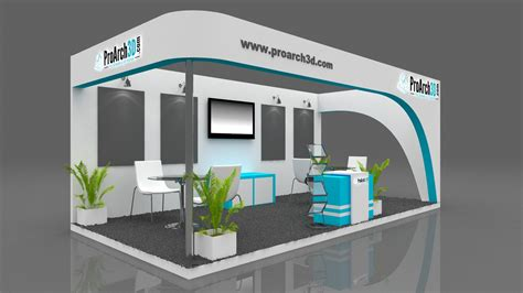 Home Design 3d Change Wall Height by Exhibition Stall 3d Model 6x3 3 Side Open Proarch3d Com