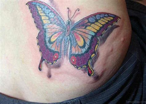 cool butterfly tattoos 50 butterfly tattoos on waist
