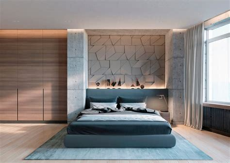 Bedroom Architecture Design Concrete Wall Designs 30 Striking Bedrooms That Use Concrete Finish Artfully