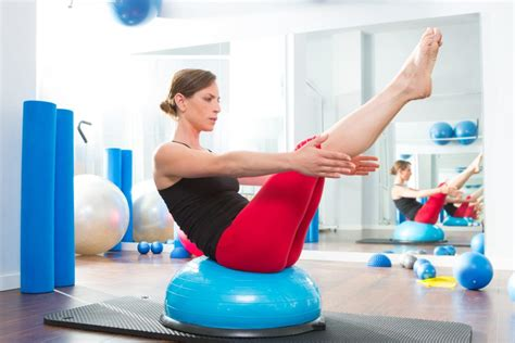 10 bosu exercises to work out your improve balance
