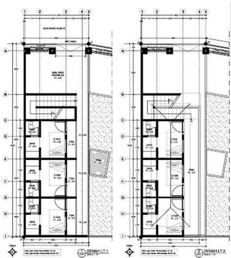 gambar imb rumah kos kosan jalan gunung talang denpasar tsg architecture and design
