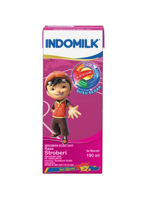 Indomilk Cair Stroberi by Indomilk Cair Uht Stroberi Tpk 250ml Klikindomaret
