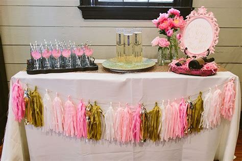 pink wedding shower themes southern bridesmaids brunch it weddings