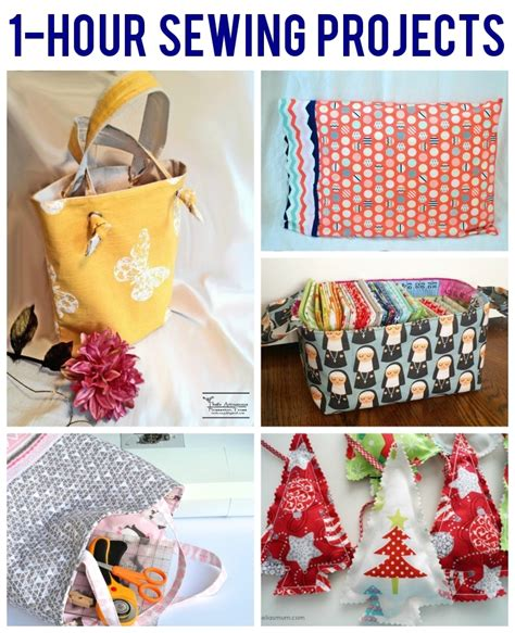 1 Hour Sewing Projects 6 Free Patterns On Craftsy Best