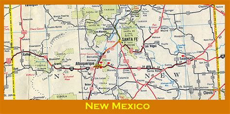 road map of texas and new mexico livaudais bunch