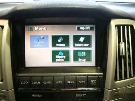 security system 2004 lexus is navigation system wrecking 2005 lexus rx330 radio dvd sat nav j12407 sat nav youtube