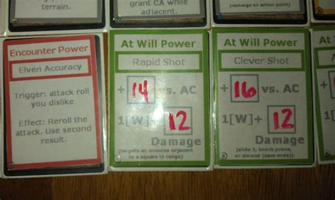 4e Power Cards Template by Dnd 4e What Is A Pdf Excel App To Use To Create A