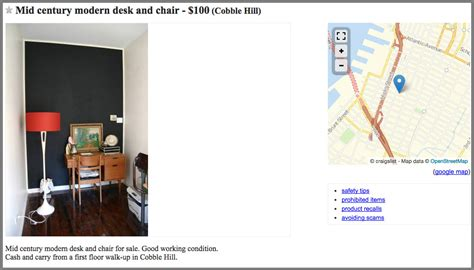 Craigslist Ny Furniture by The Best Places To Buy Cheap Vintage And Antique Furniture
