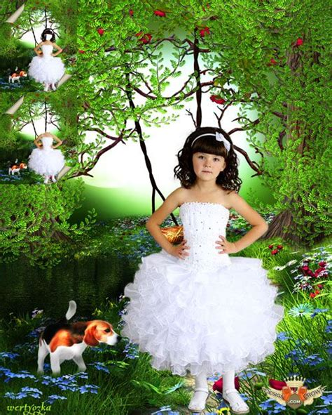 beautiful montage beautiful montage beautiful psd white dress template for with nature