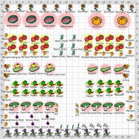 image vegetable garden layout