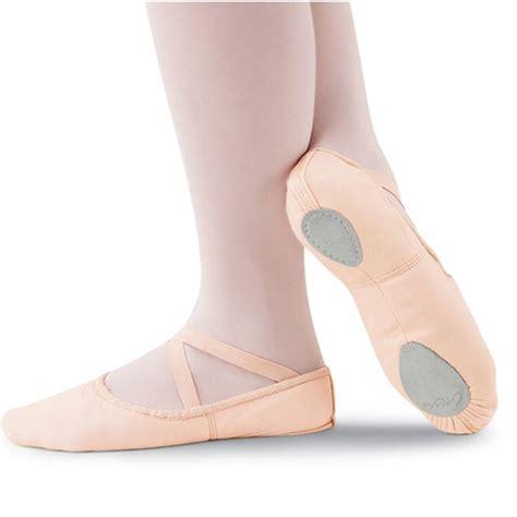 capezio canvas cobra split sole ballet shoe