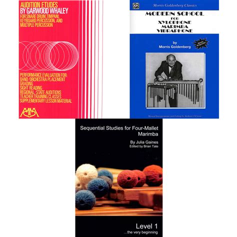 Cheap Mba Books Missouri State by Marimba Method Books Four Mallets Technique Lone