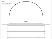 paper hat template paper hats printable templates coloring pages