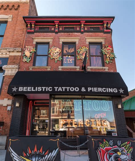 beelistic tattoo piercing vine is basically a micro city with everything you