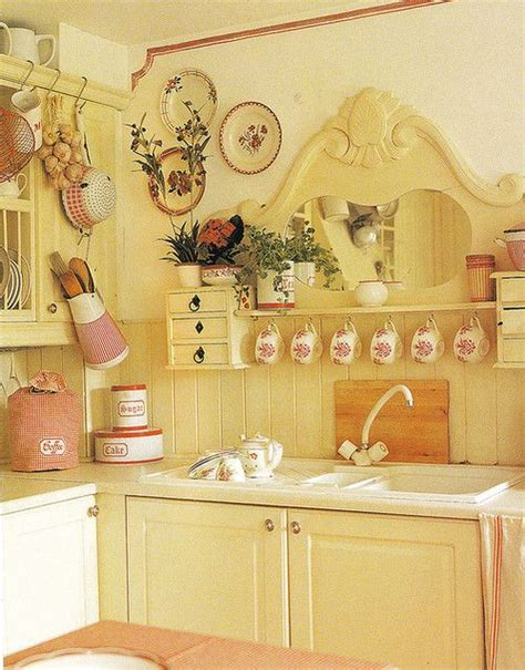 organizing your kitchen the country chic cottage 7 idee per un lavandino o lavabo shabby chic provenzale o