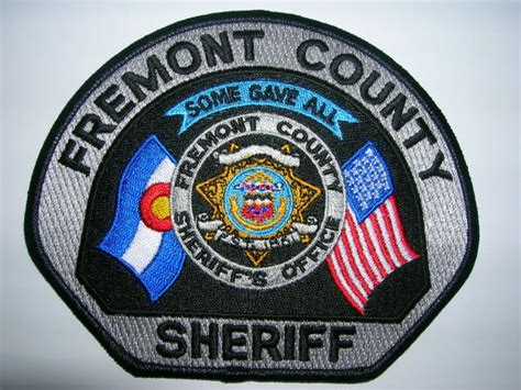 County Sheriff S Office Colorado by Mike Snook S Patch Collection Colorado Fremont