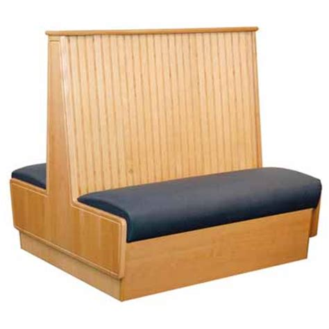 The Chairman Upholstery Waymar Southcross 3 Double Wood Booth Sc3 49 D