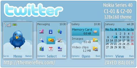 themes download in nokia c1 01 twitter theme for nokia c1 01 c2 00 themereflex