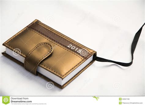 Small Diary diary for year 2015 stock image image of