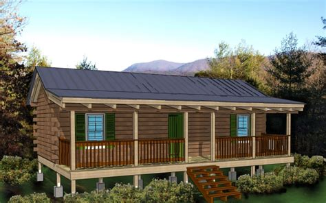 cabin kit 2 bedroom log cabin plan