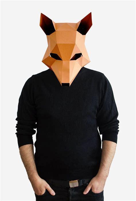 mr diy new year fox mask diy printable animal fantastic mr fox