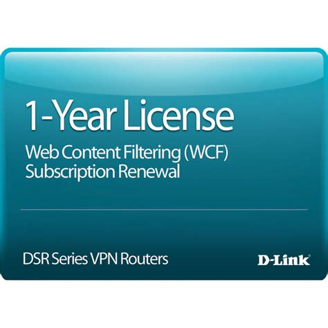 D Link Dwc 1000 Wcf 12 Lic d link 1 year web content filtering dsr 1000ac wcf 12 lic b h