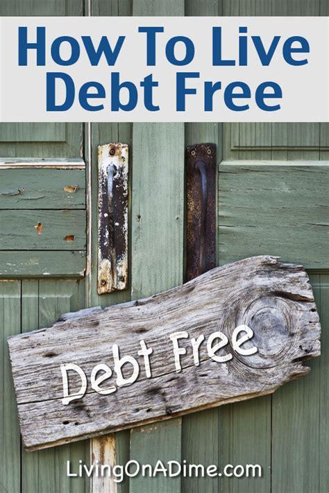 debt  debt  living tips living