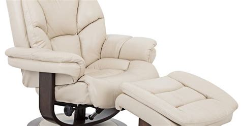 aby leather recliner chair and ottoman aby leather recliner chair ottoman shops leather and
