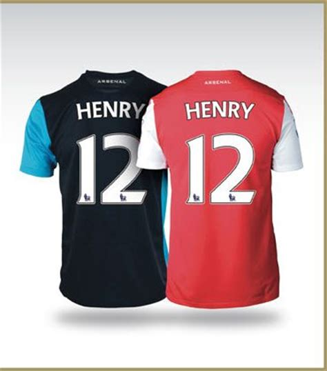 Jersey Arsenal Gk Home 11 12 new thierry henry arsenal jersey 2012 henry arsenal kit 11 12 football kit news new soccer