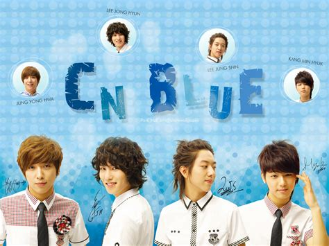 wallpaper cn blue cn blue skoolooks poster wallpaper by park hae jin