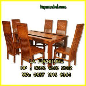 Meja Makan Akasia jual meja makan kayu meja makan kayu jati murah