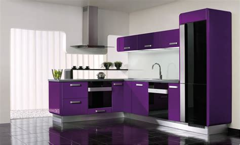 modern purple kitchen and accessories design ideas jpg